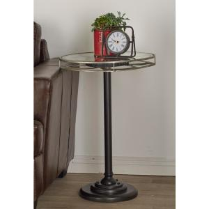 Internet #302593178. Null Black Movie Reel Accent Table ...