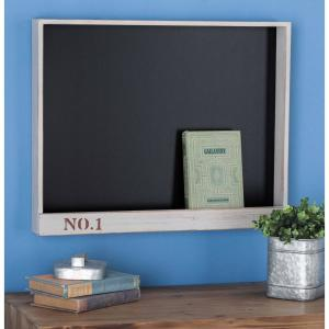 New Traditional Gray Wooden Chalkboard by