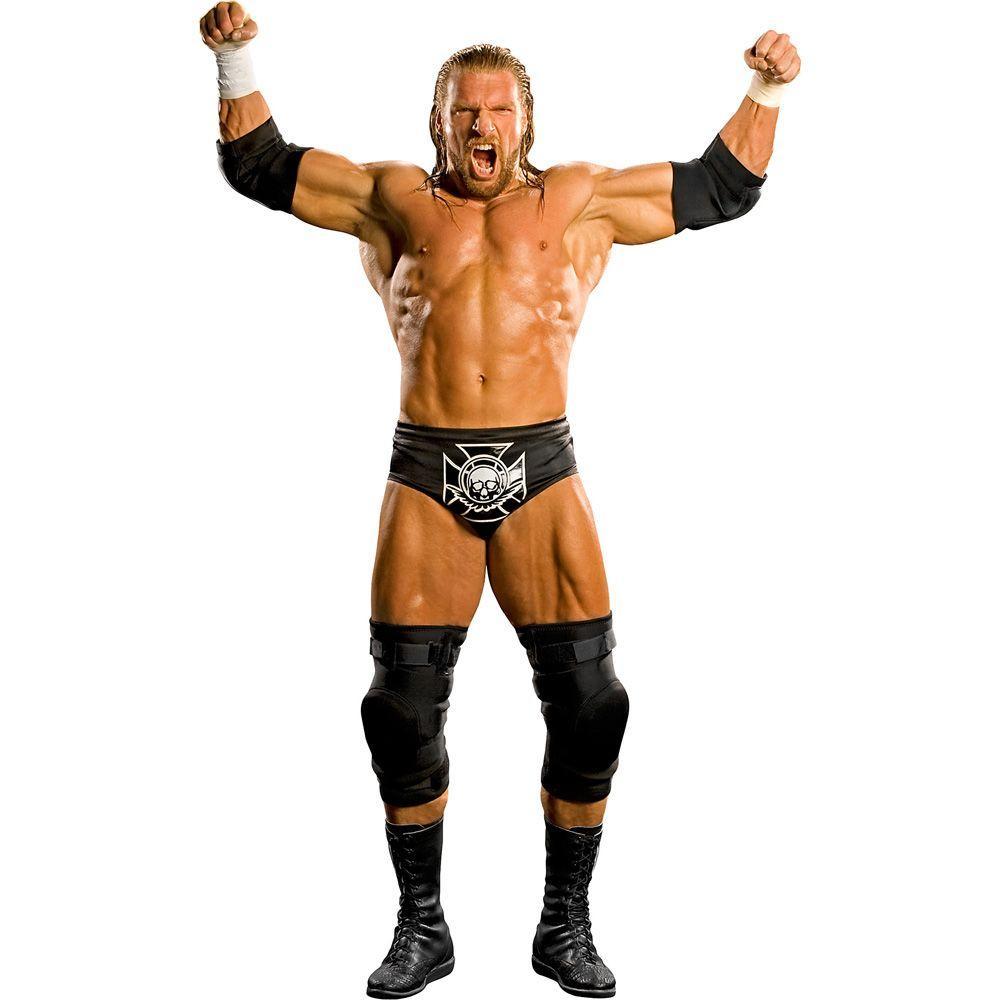 Fathead 38 in. x 23 in. Triple H Wall Decal
