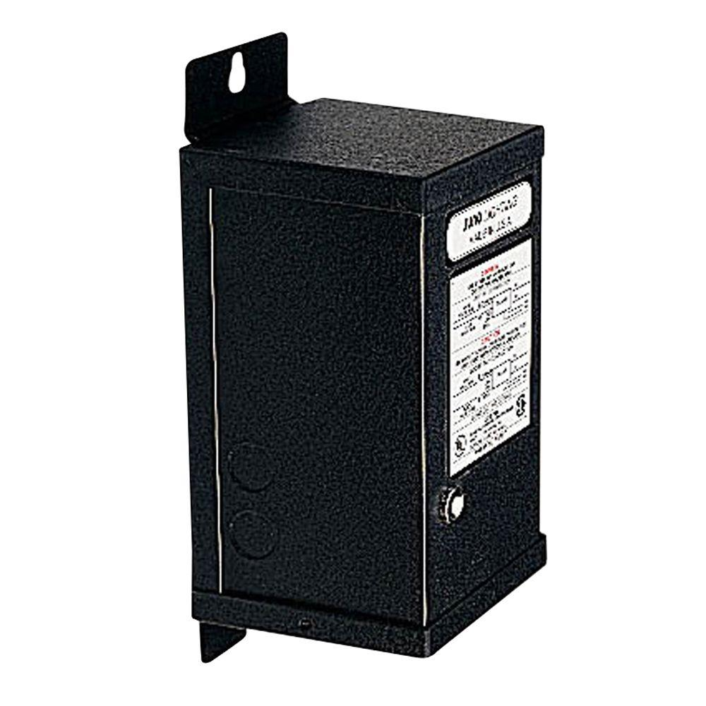 Juno Trac12 60-Watt 12-Volt AC Black Magnetic Transformer-MAGXFMR ...