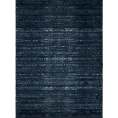 Uptown Collection by Jill Zarin Madison Avenue Navy Blue 9' 0 x 12' 0 Area Rug