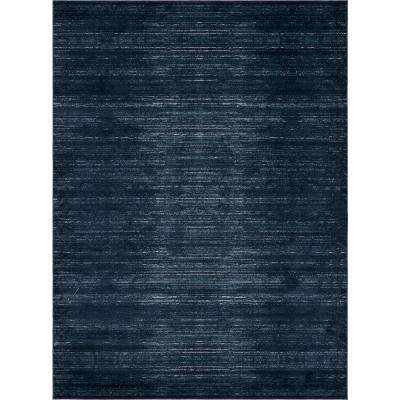 Uptown Navy Blue 9 Ft X 12 Area Rug
