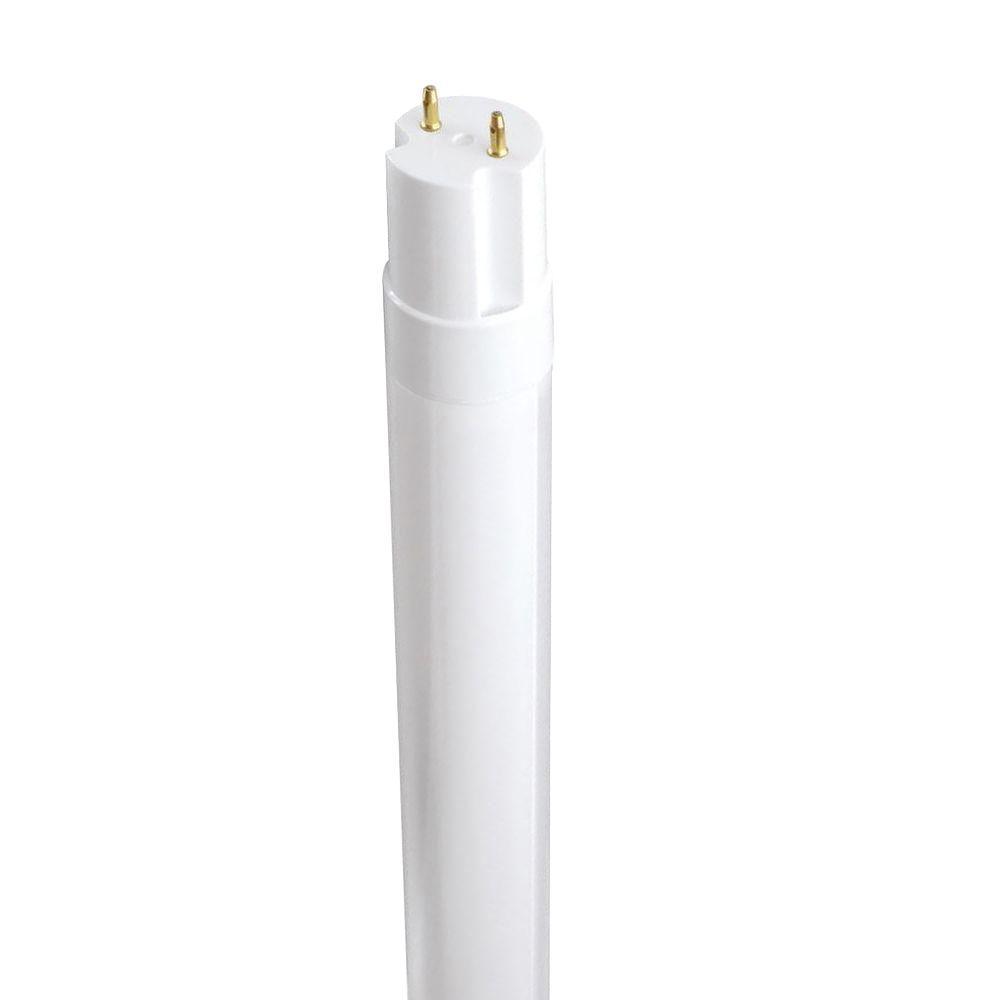 Philips 4 ft. T8 20-Watt Cool White (4000K) Linear LED Light Bulb (10-Pack)