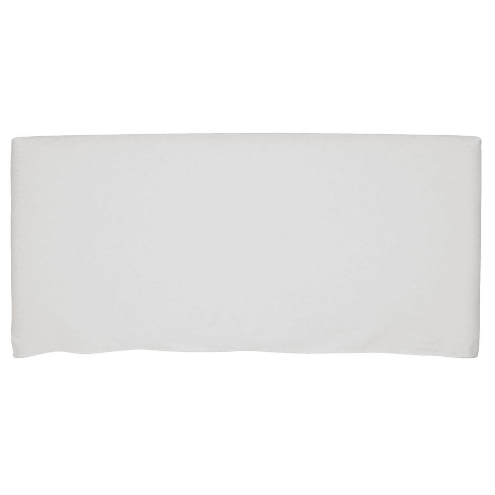 Bernese White Twin Headboard