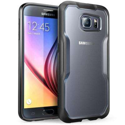 SUPCASE Unicorn Beetle Hybrid Bumper Case for Samsung Galaxy S6, Frost/Black