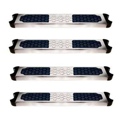 Hydrotools Stainless Steel Replacement Ladder Rung Steps for Above Ground and In Ground Pools (4-Pack)