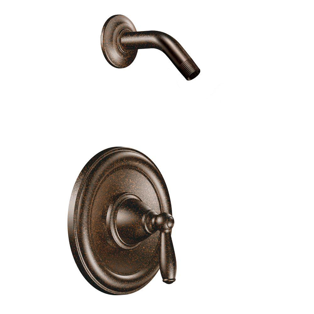 Brantford 1-Handle Posi-Temp Shower Only Trim Kit in Oil Rubbed Bronze