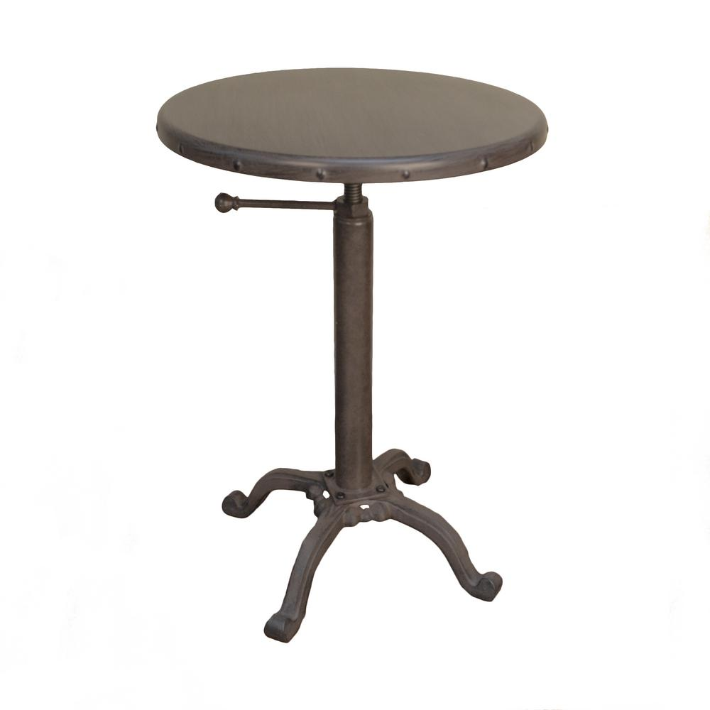Charmant Colton Warm Chestnut End Table
