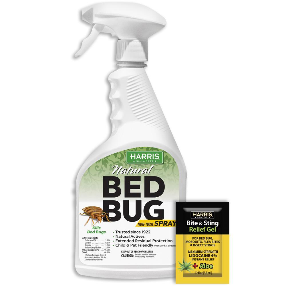 Harris 22 oz. Natural Bed Bug Killer Spray Value Pack-GBB ...