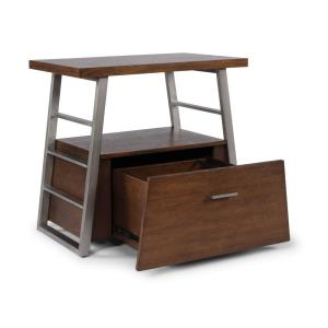 Deals on HomeStyles Degree Brown Home Office File Cabinet