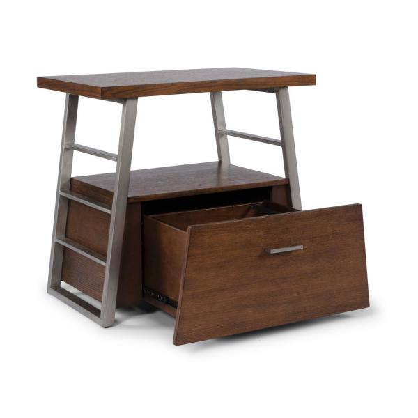 Brown Home Office File Cabinet