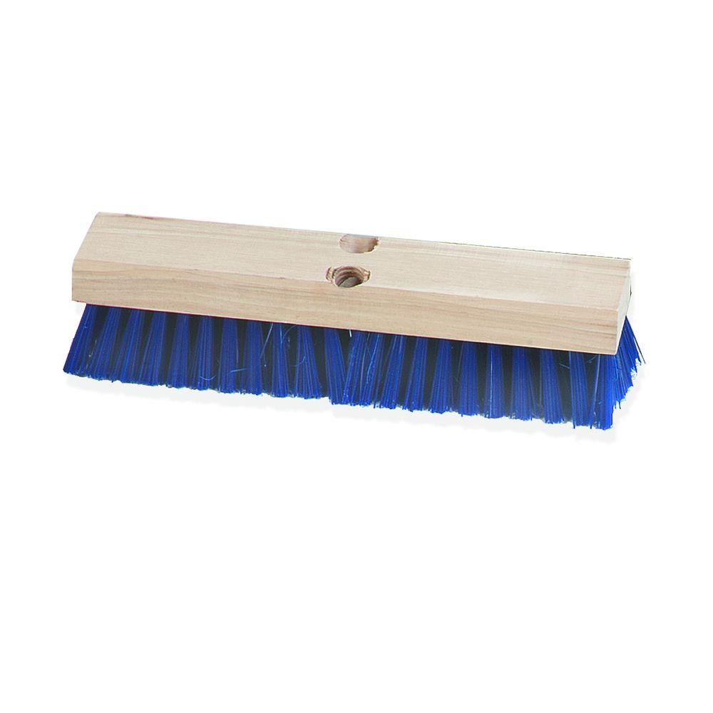 Deck Scrub Brush Stiff Polypropylene