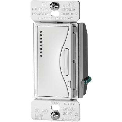 Aspire 600-Watt Smart Dimmer with Preset, Alpine White