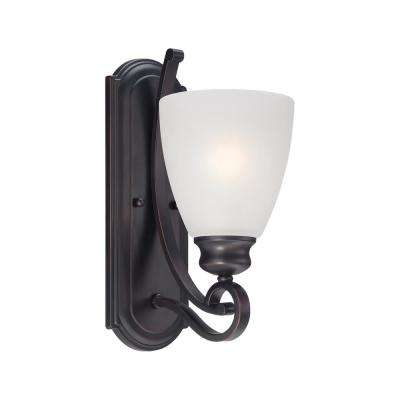 Haven 1-Light Espresso Bath Light