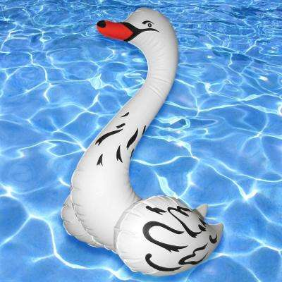 28 in. Swan Pool Inflatable