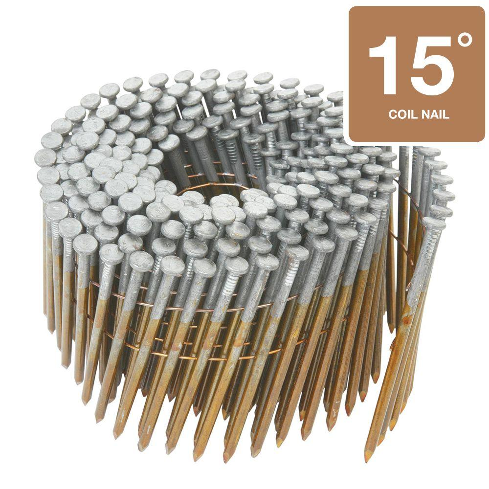 Hitachi 2-1/2 in. x .131-Gauge Wire 2.4M Bright Angled Smooth Shank Framing Nails (2,400-Box)