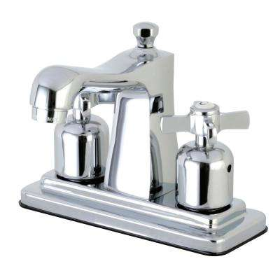 Kaiser Cross 4 in. Centerset 2-Handle Bathroom Faucet in Chrome
