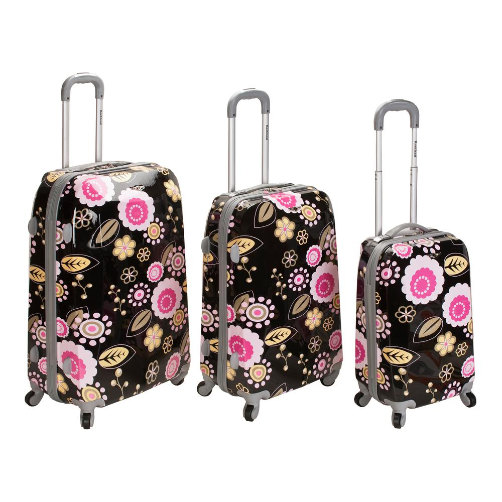 Rockland 3-Piece Vision Hardside Spinner Luggage set, Pucci
