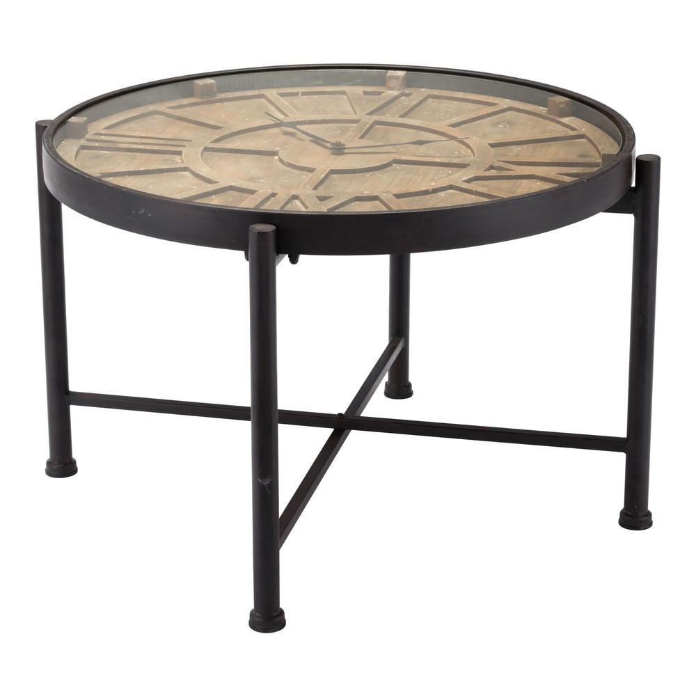 Time Black Table