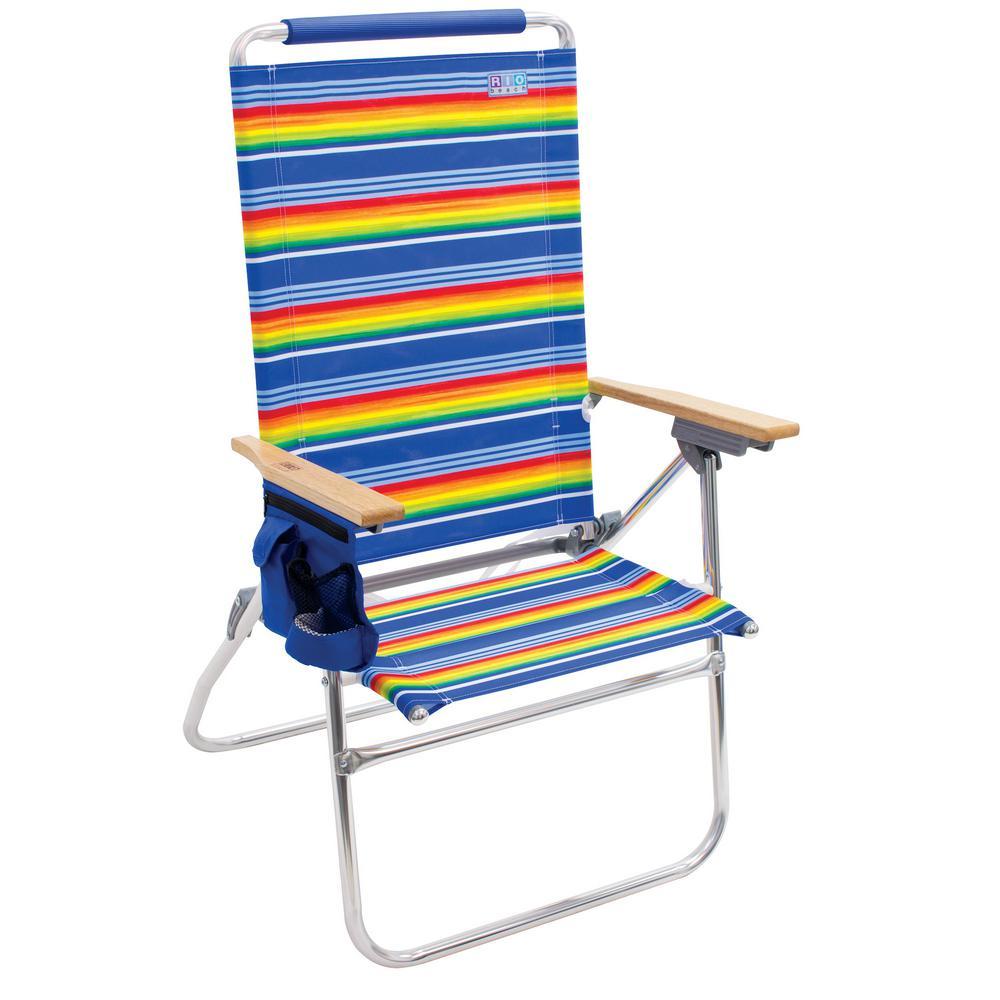 Surprising Rio Hi Boy Steel High Back Beach Chair With Bottle Opener Unemploymentrelief Wooden Chair Designs For Living Room Unemploymentrelieforg