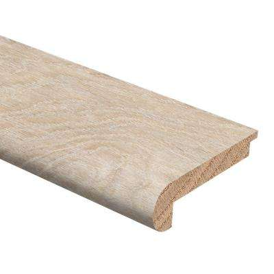 By the Sea Oak 3/8 in. Thick x 2-3/4 in. Wide x 94 in. Length Hardwood Stair Nose Molding (Engineered)