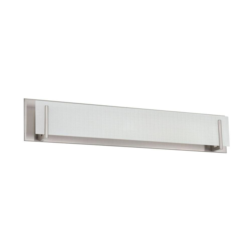 Kendal Lighting Cassiopeia 1-Light Ceiling Chrome Incandescent Vanity