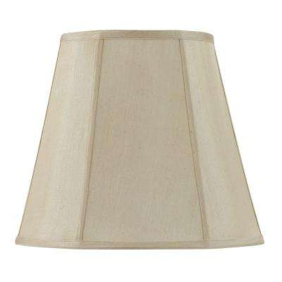 14 in. Cream Empire Fabric Lamp Shade
