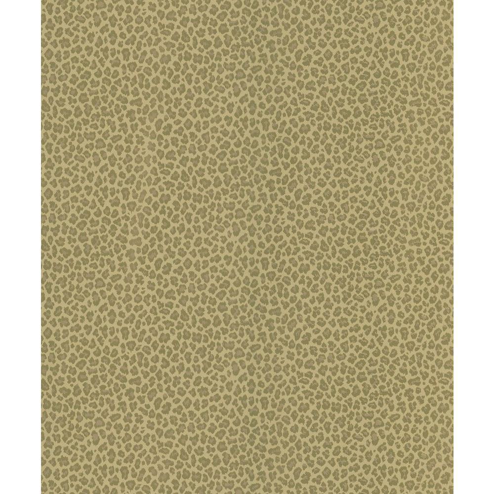 Brown Cheetah Print Wallpaper Sample