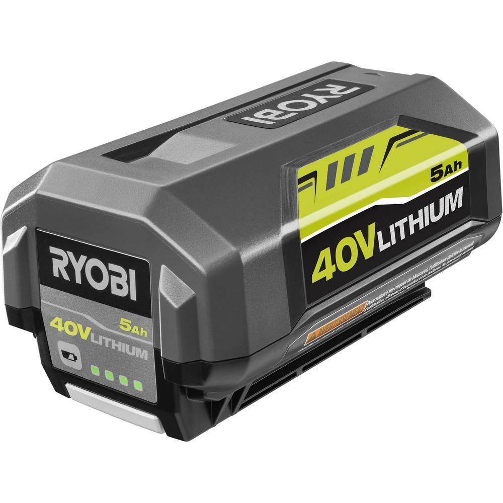 RYOBI 40-Volt Lithium-Ion 5 Ah High Capacity Battery was $159.0 now $109.0 (31.0% off)