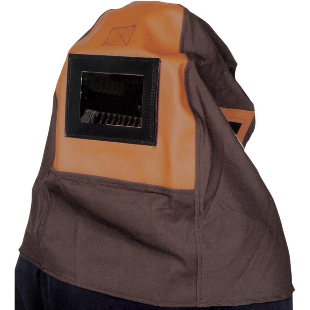 Deluxe Industrial Hood W/Bump Cap with 5 in. x 6 in. Lens