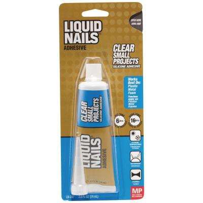 Small Projects 4 oz. Clear Interior Small Projects Adhesive