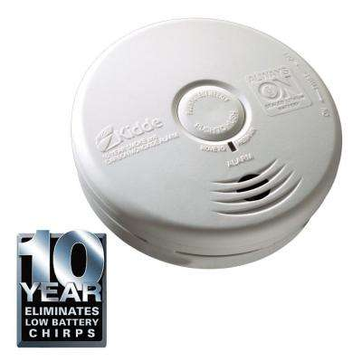 Worry Free 10-Year Kitchen Sealed Lithium Battery Operated Combination Smoke and Carbon Monoxide Alarm