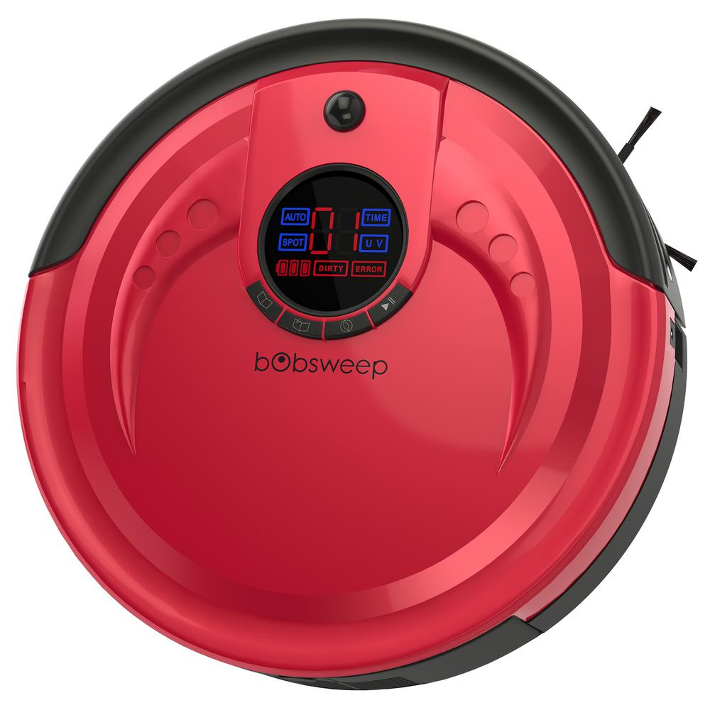Bobsweep Red Robotic Rouge Vacuum Cleaner