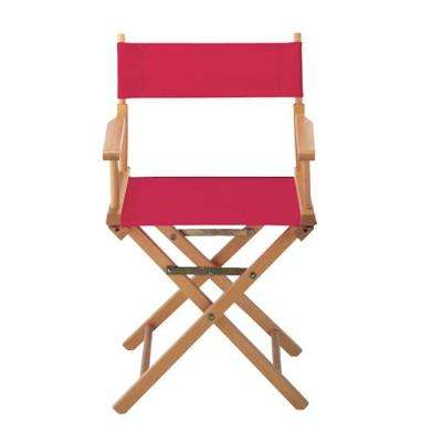 Red Director's Chair Cover
