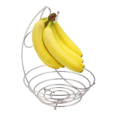 Satin Nickel Fruit Bowl