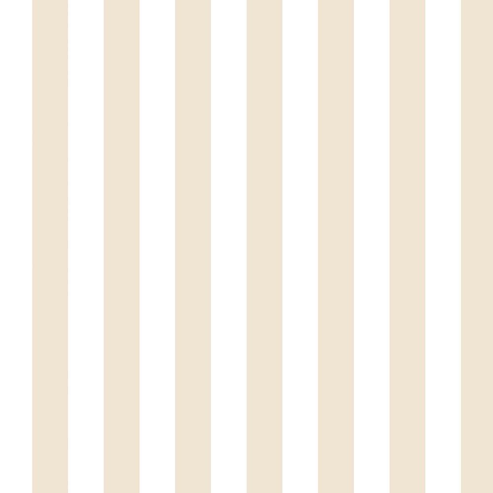 1.25 in. Regency Stripe-Beige & Off White Vinyl Peelable Roll (Covers 56 sq. ft.)