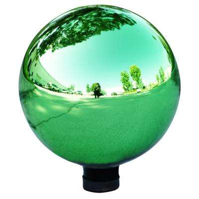 Electric Green Glass Gazing Globe