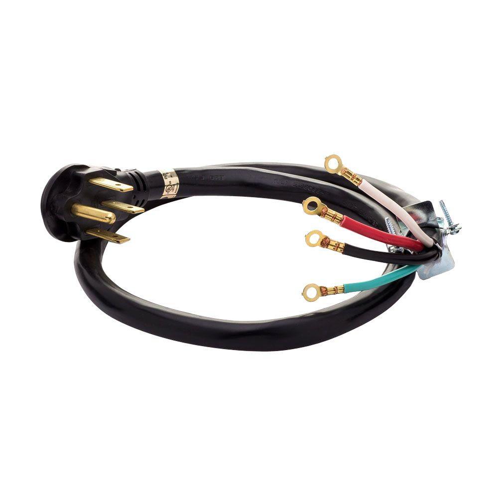 4 ft. 50 Amp 4-Prong Range Cord