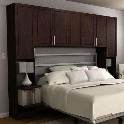 Madison 1-Piece Mocha Queen Bedroom Kit