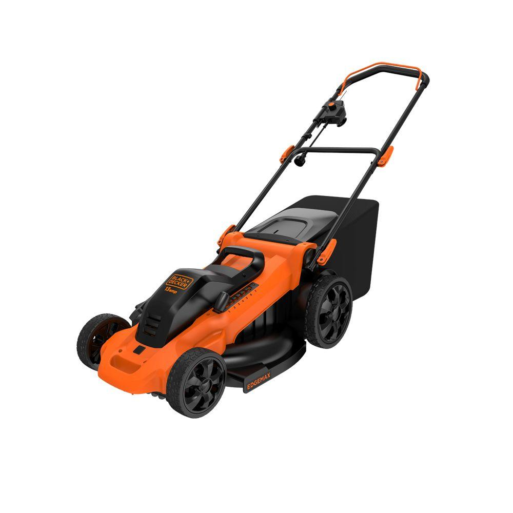 13-Amp Corded Electric Walk Behind Push Lawn Mower
