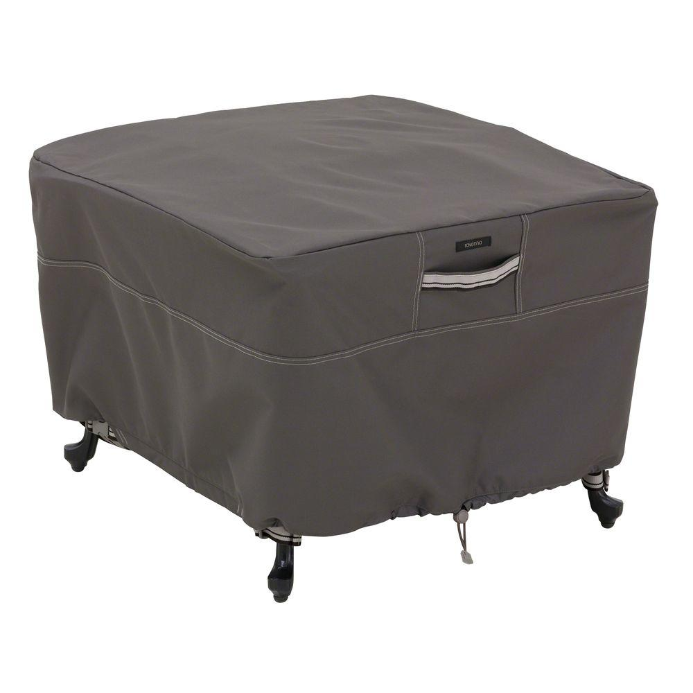 Great Classic Accessories Ravenna Square Large Patio Ottoman/Table Cover