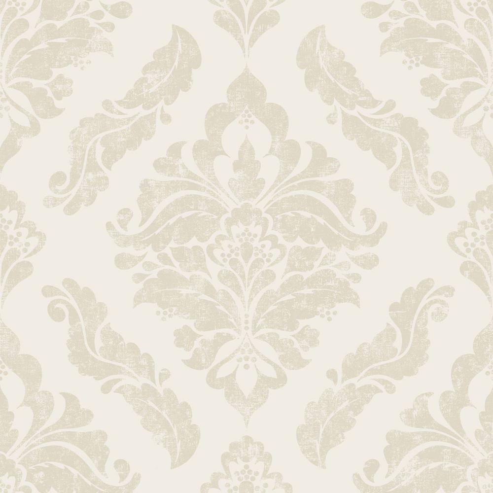 Graham Brown Damaris Cream And Gold Removable Wallpaper
