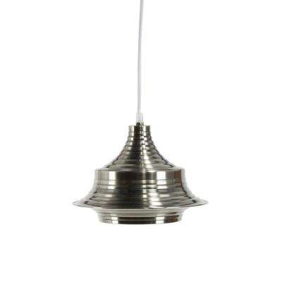 Robbie Silver Metal Integrated LED Pendant Lamp