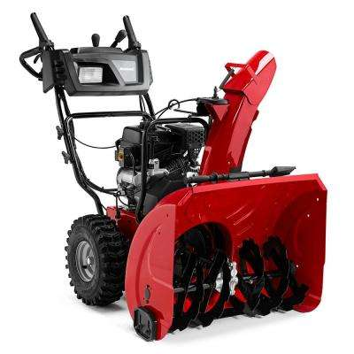 24 in. 208 cc Two-Stage Electric Start Gas Snow Blower