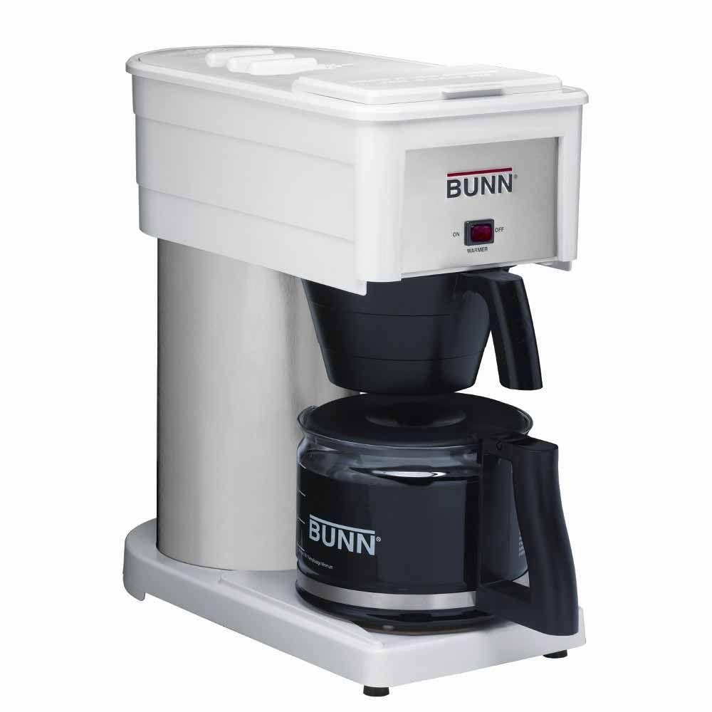 Bunn Velocity Brew High Altitude Classic 10-Cup Home Brewer, White-DISCONTINUED