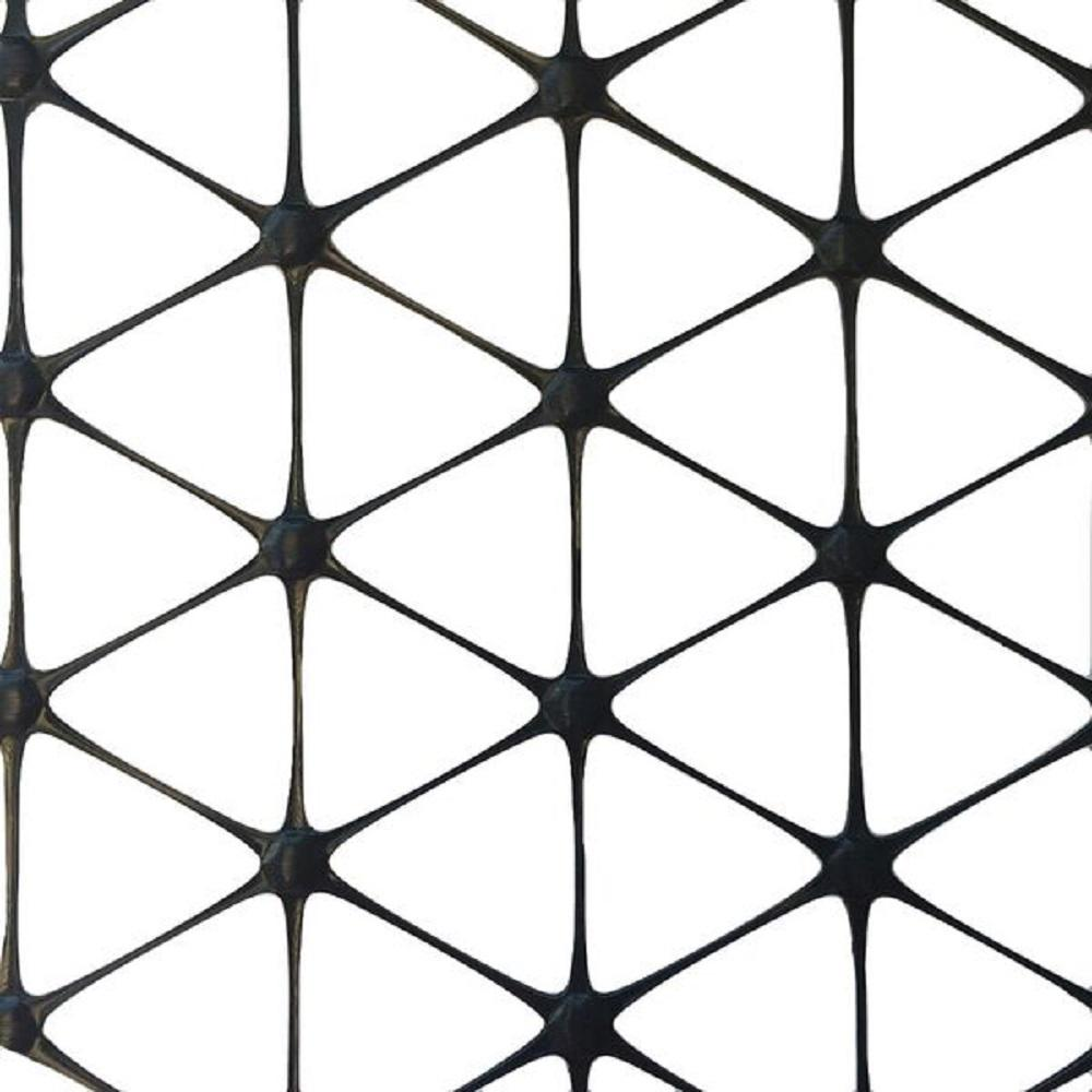 72 in. x 60 ft. TriAx GeoGrid Black Polypropylene Patio Paver