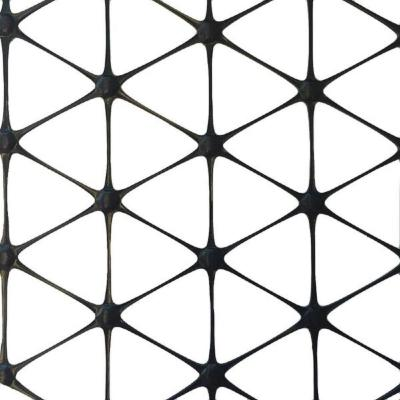 72 in. x 60 ft. TriAx GeoGrid Black Polypropylene Patio Paver Base