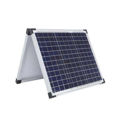 60-Watt Polycrystalline Folding Solar Panel with Cable