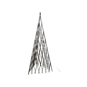 12 inch W x 72 inch H Master Garden Products Willow Expandable Trellis Teepee by