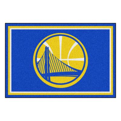 Golden State Warriors 5 ft. x 8 ft. Area Rug